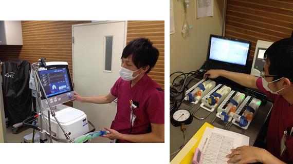 人工呼吸器点検/定期点検